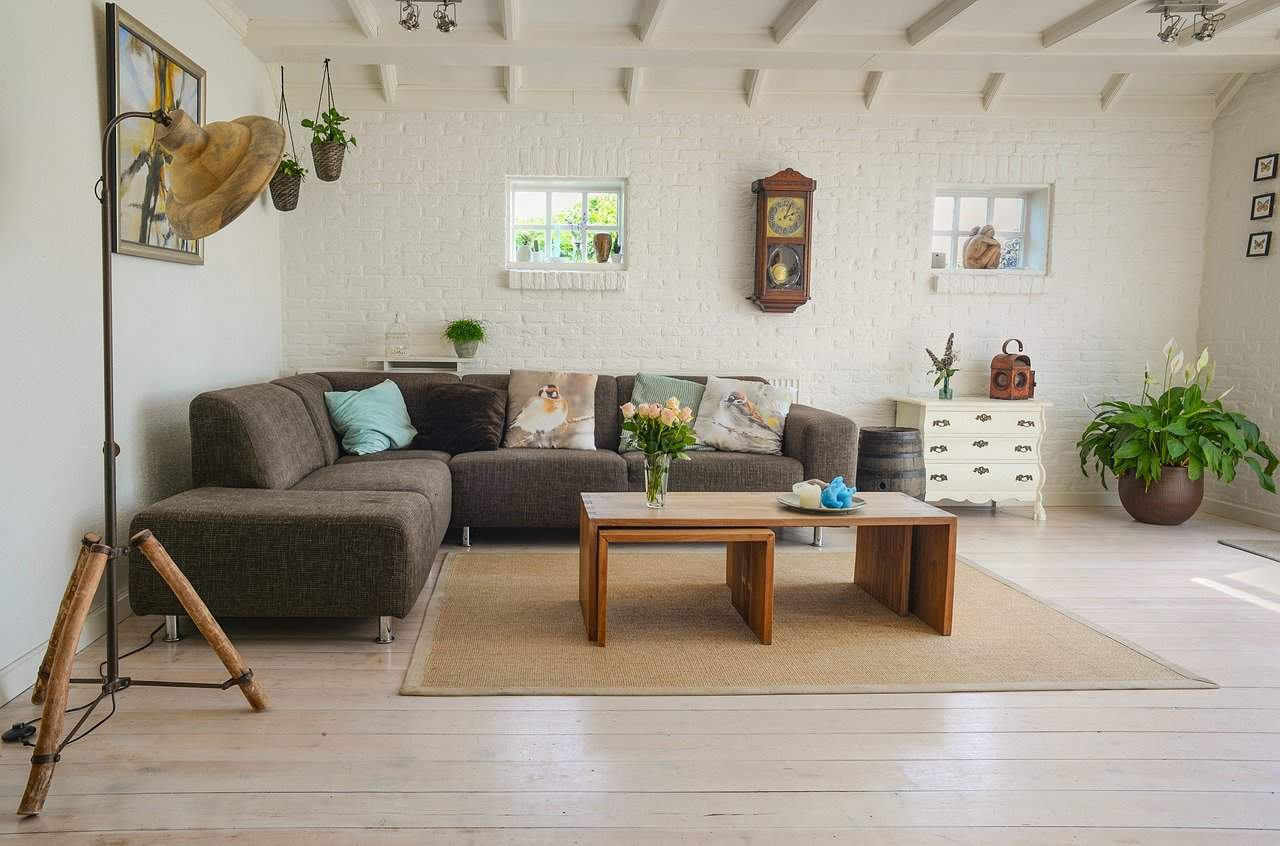 things you need for an apartment. living room furniture.
